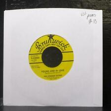 """The Lennon Sisters - Young And In Love / Teen Age Waltz 7"""" VG+ Promo Vinyl 45"""