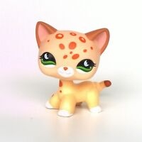 Littlest Pet Shop standing short hair cat LPS toys kitty EUROPEAN #852