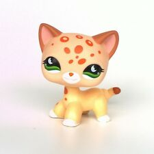 Littlest Pet Shop standing short hair cat LPS toys kitty EUROPEAN #852