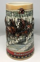 1988 Budweiser Holiday stein Christmas mug CS88 from Annual series