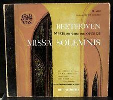 Beethoven Missa solemnis Klemperer Steingruber Schuerhoff Majkut Wiener