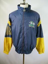 E5395 VTG 90s STARTER Notre Dame Fighting Irish NCAA Windbreaker Jacket Size L
