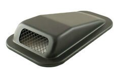 LAND ROVER DEFENDER AIR INTAKE TOP WING BLACK STEEL RH / PASSENGER SIDE