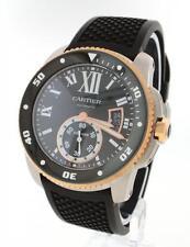 Cartier Calibre de Cartier Diver w7100055 Steel and Gold 42mm Mens Watch