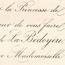 Laurent Huchet De La Bedoyere 1875 Henriette Legros