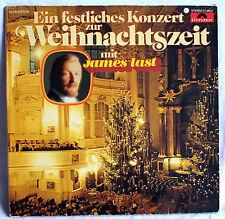 """12"""" Vinyl JAMES LAST - Ein festliches Konzert zur WEIHNACHTSZEIT"""