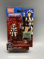 MEGA CONSTRUX He-Man & MASTERS OF THE UNIVERSE Heroes EVIL LYN MOTU GPH69 BLACK