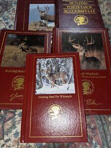 North american hunting club books, Lot Of 5, Deer Hunting