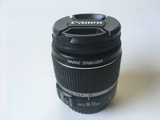 Canon EF-S 18-55mm f/3.5-5.6 IS Lens w/Image Stabilization for EOS DSLRs *GOOD*