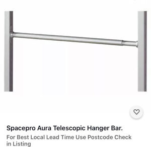 Spacepro Aura Telescopic Hanger Bar.