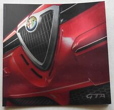 Alfa Romeo GTA Prospekt 2001 Deutsch Brochure Depliant no book buch