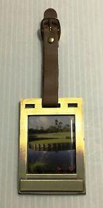 TPC Sawgrass Golf Bag Name Tag 17th Island Green (Collectible)