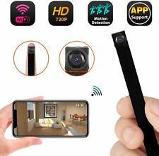 Mini WiFi Camera 720P Wireless Hidden Camera Small Nanny Cam