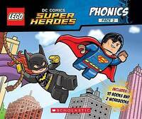 Phonics Boxed Set #2 (Lego DC Super Heroes) by Lee, Quinlan B, NEW Book, FREE &