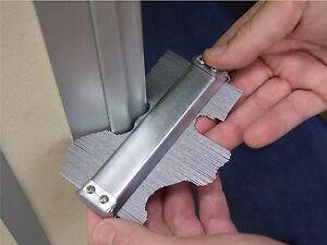 "Metal Professional Contour Gauge 125MM 5"" Profile Tiling Laminate Tiles Carpet"
