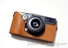 Handmade Genuine Real Leather Bag Case Cover for FUJI FUJIFILM TX1 TX-1 camera