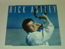 RICK ASTLEY CD 3T THE ONES YOU LOVE (1993)
