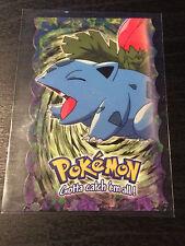 Pokemon - Ivysaur - TOPPS Die Cut Embossed Promo Card 2 of 12 - Near Mint NM