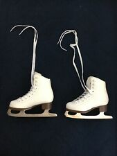 Glacier 120 By Jackson Youth Ice Figure Skates Size 12 White