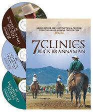 7 Clinics with Buck Brannaman Discs 5, 6, & 7: Lessons on Horseback, Problem Sol