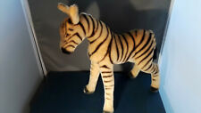 STEIFF  Zebra mohair 14 inches standing 14 inch long  EAN 6335 issued 1956-62