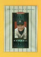 2775 1994 Upper Deck Mantle Heroes #NNO Mickey Mantle Header YANKEES Card $12.50