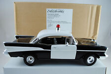 1:18 Ertl - 1957 CHEVY BEL AIR HARD TOP Police Car  RARITÄT  Neu/OVP #29184P*