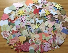 150 super mix Mixed Shapes Colours embellishment card Making Scrapbooking Crafts