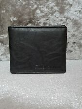 Ben Sherman Mens Wallet, Black, Leather, New Without Tags