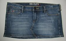 HOLLISTER Distressed Short Mini Skirt Size 1  Waist measures 31