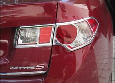 Honda Accord Euro 08-14 Chrome Rear Tail Light Lamp Surrounding Garnish Trim