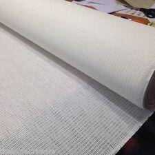 5 Mtrs Rafia Blanco Ártico Hoja ciego Pantalla Craft material 1.9M amplia venta!