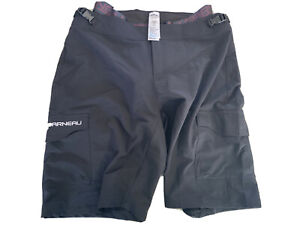 Louis Garneau Connector Cycling Shorts Men/'s Large Black Retail $99.99