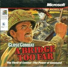 CLOSE COMBAT: A BRIDGE TOO FAR  ~  PC CD ROM.  PRODUCED BY MICROSOFT