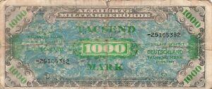 Germany 1000 Mark 1944 P-198b *Rare*