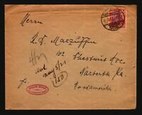 Germany 1921 Cover / 1.25M Germania / Light Creasing - Z17078