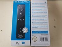 """Official Nintendo Wii U Black """"Wii Remote Plus"""" - Brand New & Boxed"""