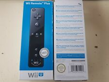 "Official Nintendo Wii U Black ""Wii Remote Plus"" - Brand New & Boxed"