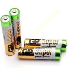 100 x AAA GP Super Alkaline Batteries LR03 24AU DATED 2021