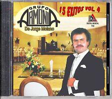 GRUPO ARMONIA de Jorge Molano ´´15 EXITOS VOL. 4´´ CD NEW