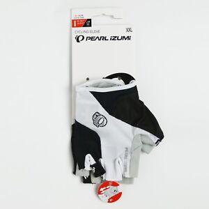 Pearl Izumi Cycling Gloves Sz XXL Men ELITE Gel Black White Bike Bicycle New