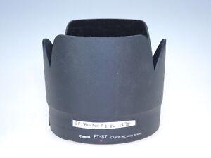 Genuine Canon ET 87 Lens Hood for 70-200mm IS II USM
