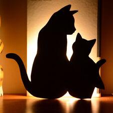 LED Luz de Noche Sensor De Sonido silueta de la Lámpara de Pared Cuarto de Baño Luz de ahorro de energía