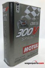 2 litros Motul SAE 0w15 300v sprint aceite de motor