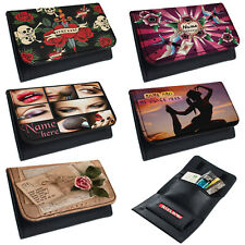 More details for personalised tobacco pouch ladies rolling baccy wallet smoking gift bingo hers