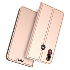 For Motorola Moto E6 Plus Luxury PU Leather Stand Wallet Flip Phone Case Cover
