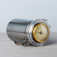 Humidor Jar with Humidifier and Hygrometer Cigar Case Can Hold 10-15 Small Cigar
