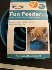 Outward Hound Fun Feeder Drop Teal
