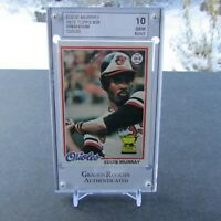 1978 Topps Eddie Murray Baseball Card #36, Grade 10, Gem Mint.
