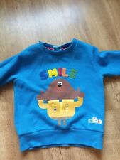 Worn Once.  Hey Duggee Next Jumper Size 1.5 To 2 Years / 18 To 24 Months